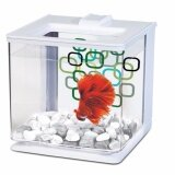 Marina Betta Aquarium EZ Care 2.5L White - Fish Tank (13357)