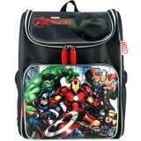Marvel Avengers VAE1729 16 Inch EVA School Bag- Black/Grey