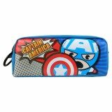 Marvel Kawaii VKA1745 Pencil Pouch- Captain America