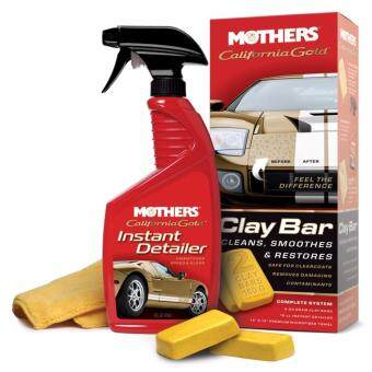 Mothers 07240 California Gold Clay Bar System Kit