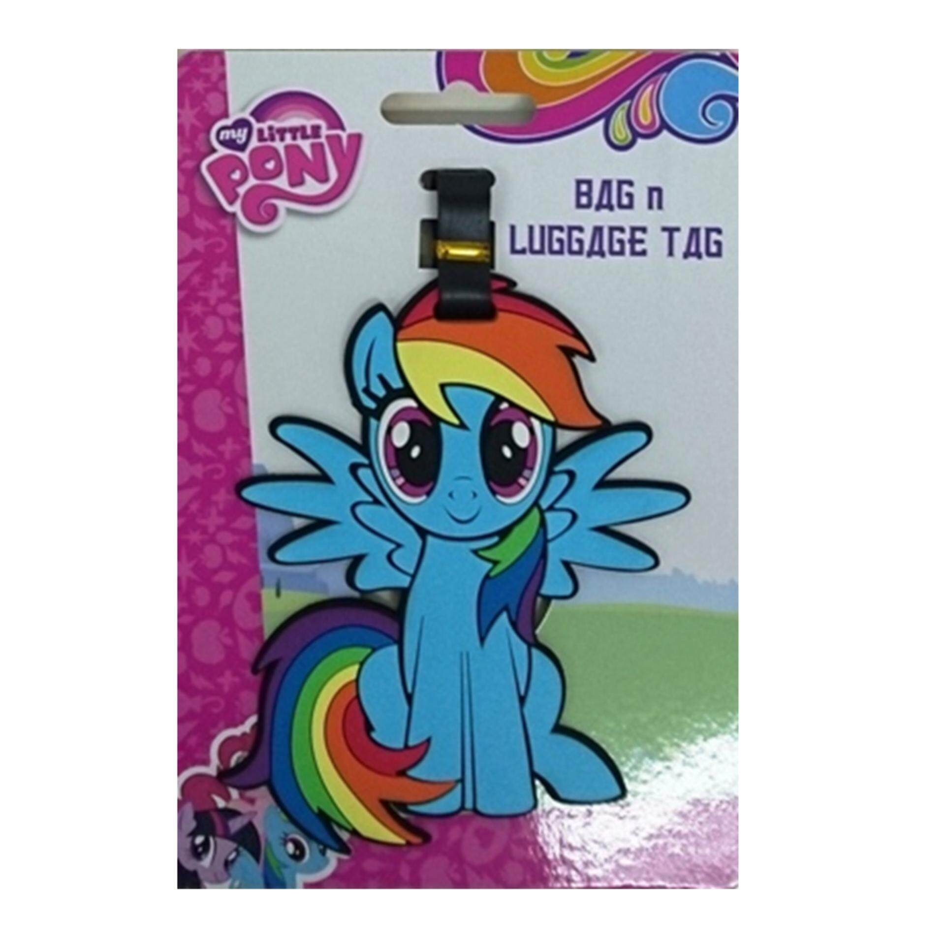 My Little Pony Luggage Tag - Blue Rainbow Dash