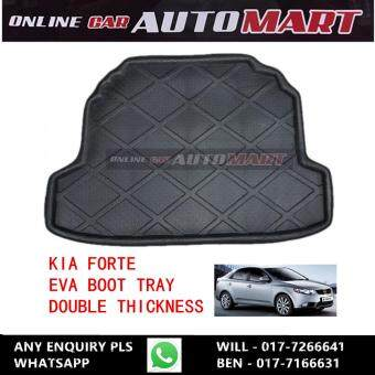 New Car Rear Cargo Mat Auto Trunk Mat Boot Tray Liner ProtectorFloor Dustproof Carpet Pad For Kia Forte