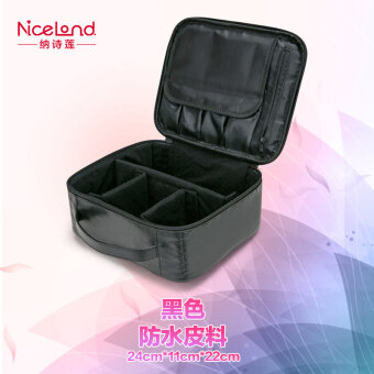 makeup tool box. niceland large multi-professional makeup storage bag tool box i