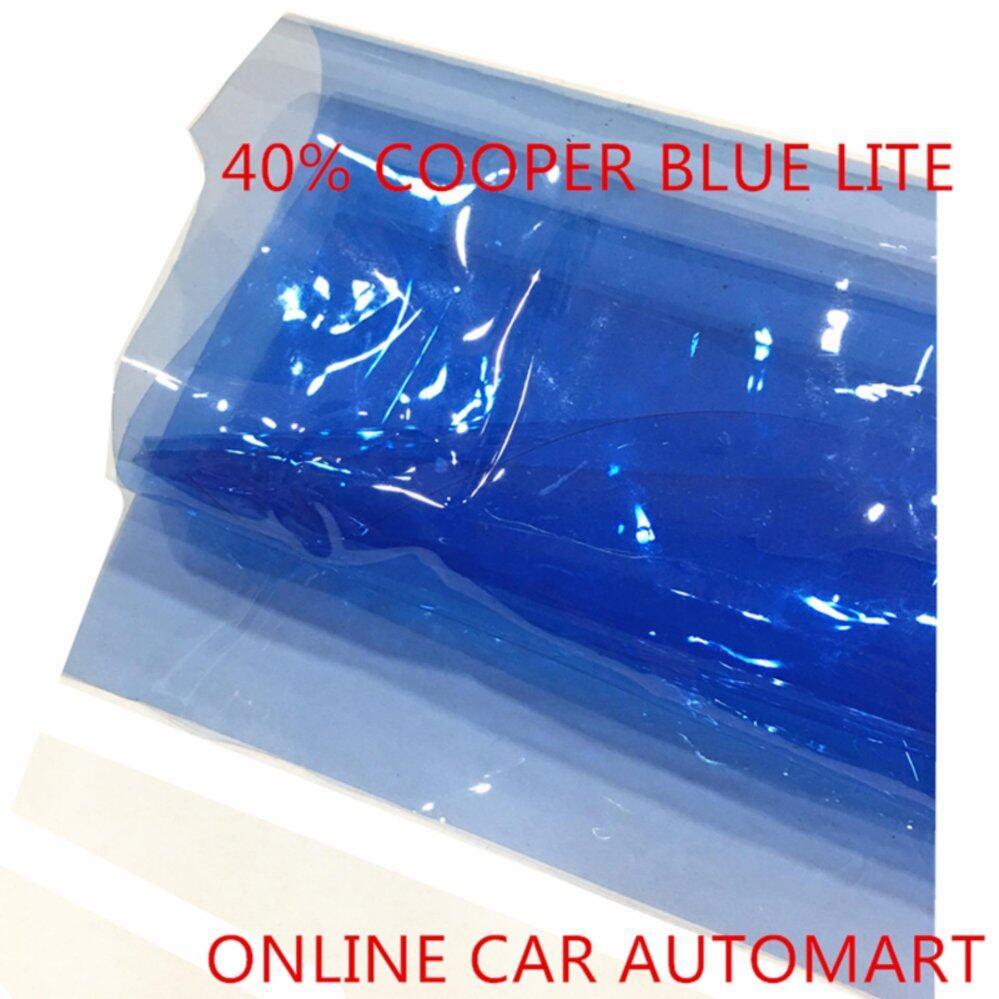 OEM Pre-Cut Shape Magic Tinted Solar Tinted (4 Windows) 40% Cooper Blue Lite For Toyota Vios Yr 2003-2006