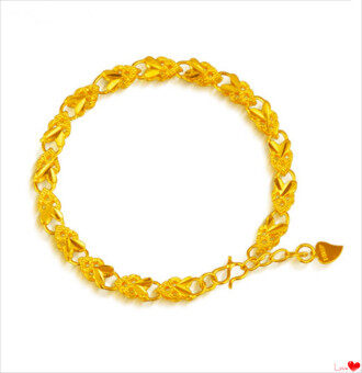 Harga ONLY 24K Golden Extreme Simple Lady Bralelet