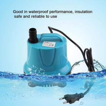 Harga Plastic 2000L/H Fish Tank Aquarium Water Submersible Pump Blue WithEU Plug SM-38L