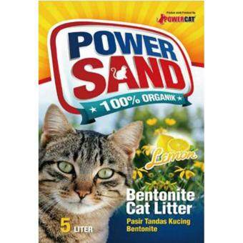 Harga Powercat Powersand Cat Litter 5L [Lemon]