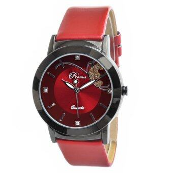 Harga PREMA Premium Butterfly Fashion Watch- Red