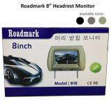 Broz Roadmark 8  Headrest Monitor TFT LED Monitor With Universal Mounting Pillow With Zipper Grey