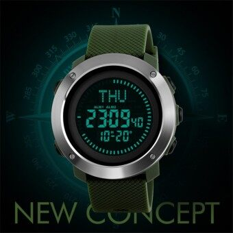 016dc3cbf85 Skmei 1293 Multifunctional Compass Electronic Sport Watch Outdoor Sports  Men s Waterproof Watch
