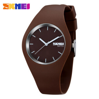 SKMEI Watch Jam Tangan Women Luxury Brand Fashion Casual Quartz Watch Jam Tangan es Silicone Strap