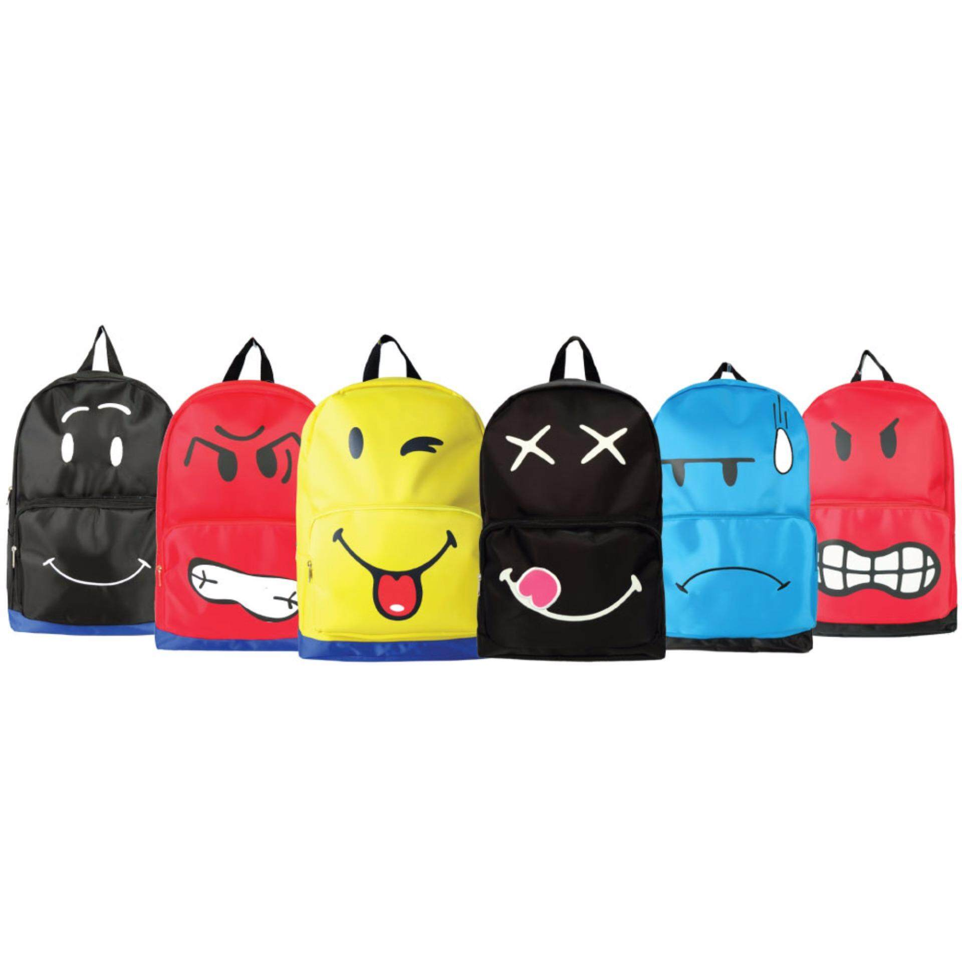 Smiley SS1641 18 Inch Emojis Backpack