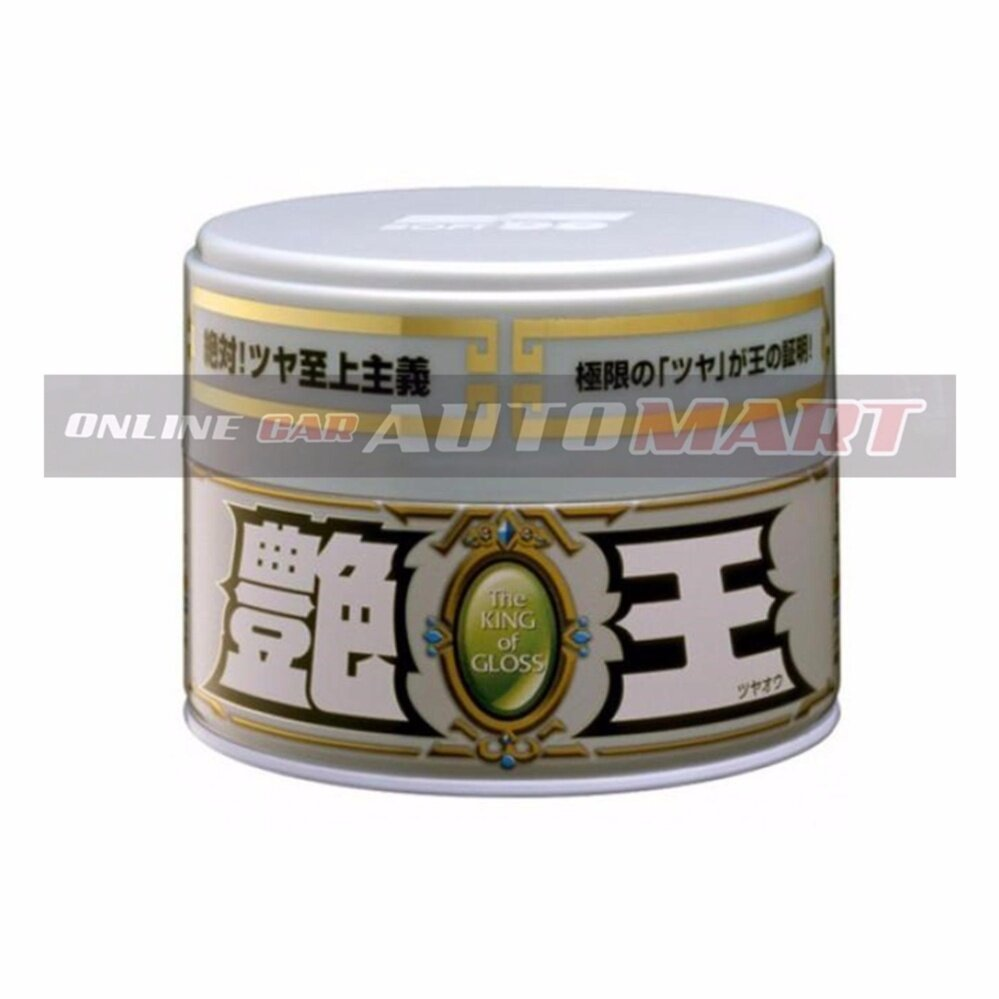 Soft 99 The King of Gloss White - 300g