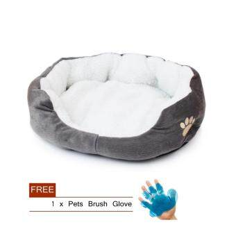 Soft Cotton Pet Cat Beds Supplies (Grey)