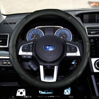 Suitable for 2016 models Subaru new outback leather steering wheel cover XV Forester Ssangyong korando multi-car to cover