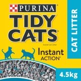 TIDY CATS® Instant Action Non-Clumping Clay Litter Pack (1 x 4.5kg) - Pet Accessories/ Cat Accessories/ Bath Accessories/ Shampoos Accessories/ Cat Litters