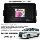 Broz Alphard 2000-2017 Multipurpose Universal One Tray For All Purpose - For Car Rear Boot (80 x 50 x 5.2cm)