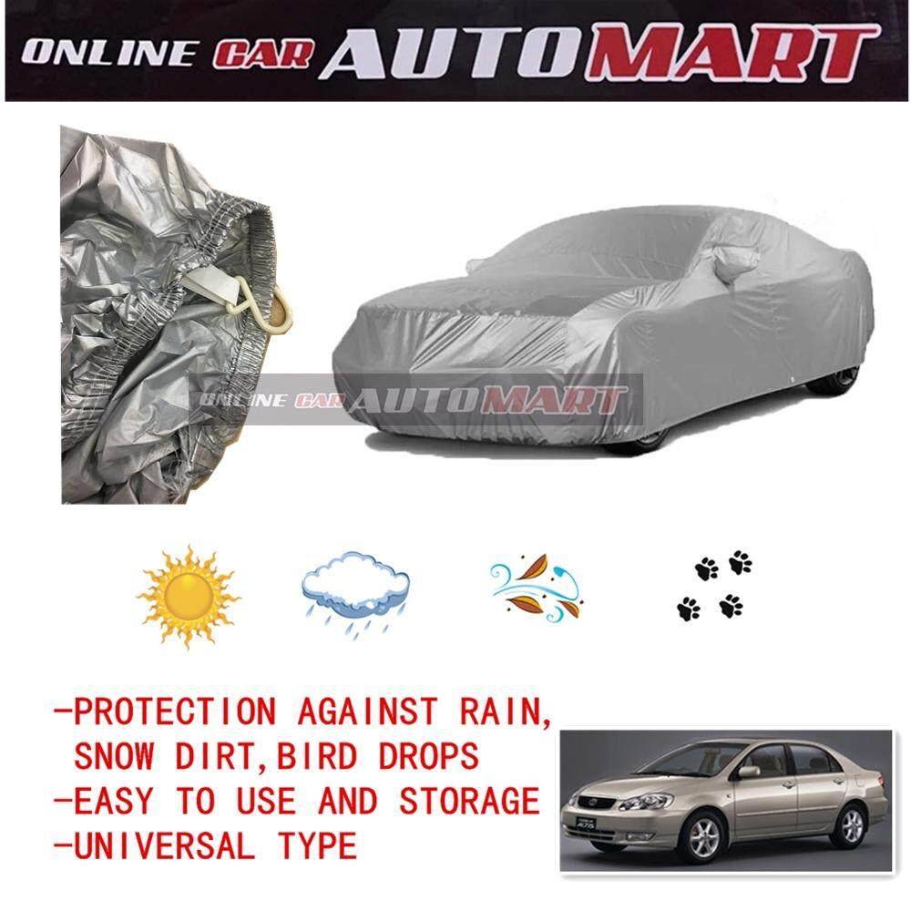 Toyota Altis Yr 2003-2007/Altis Yr2008-2013/Altis Yr 2014-2016 - Yama High Quality Durable Car Covers Sunproof Dust-proof Water Resistant Protective Anti UV Scratch Sedan Cover