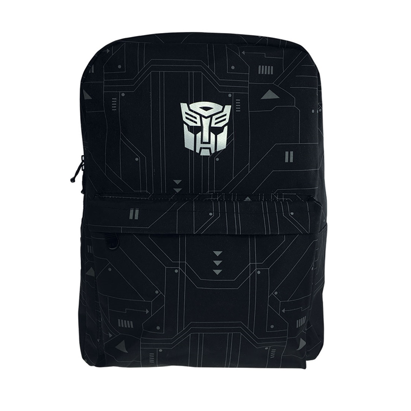 Transformers Adult Backpack School Bag - Black Colour
