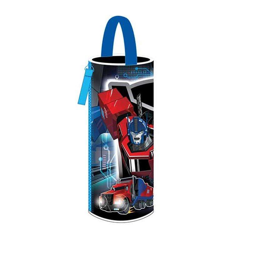 Transformers Round Pencil Bag - Optimus Prime