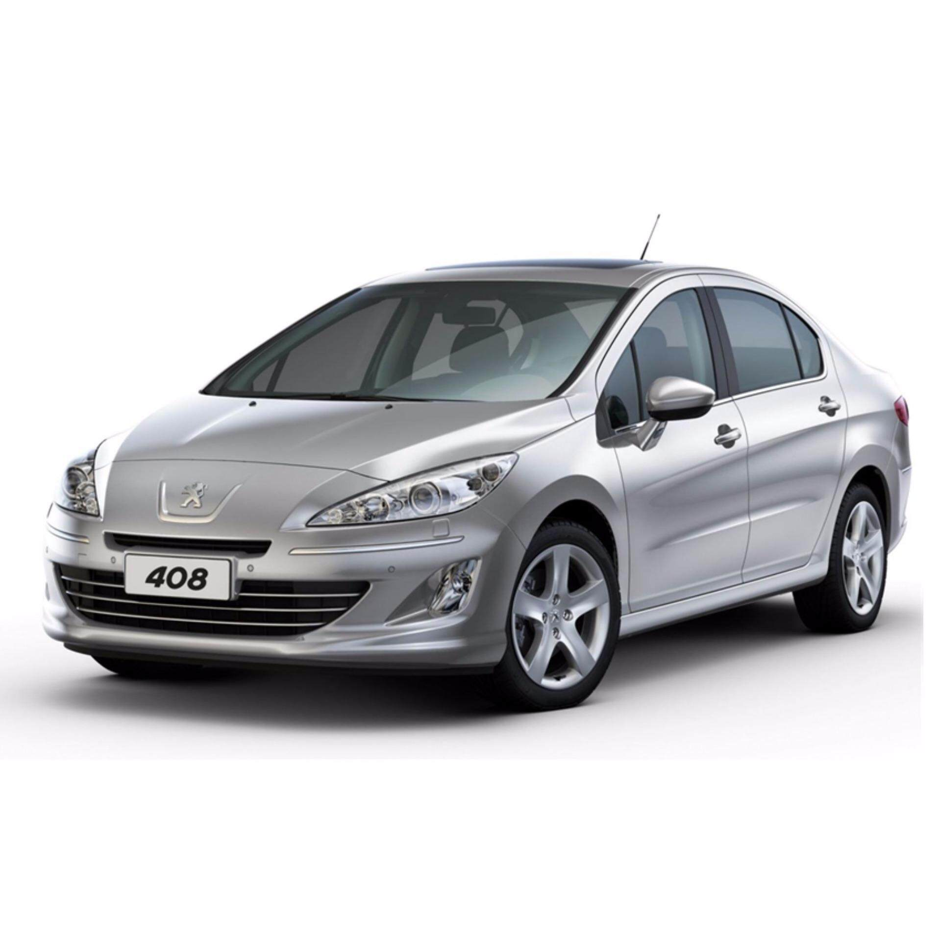 Transparent Car Cover With Available Size (Dust-Proof, Waterproof, Dispossable Plastic) For Car Body - Peugeot 408