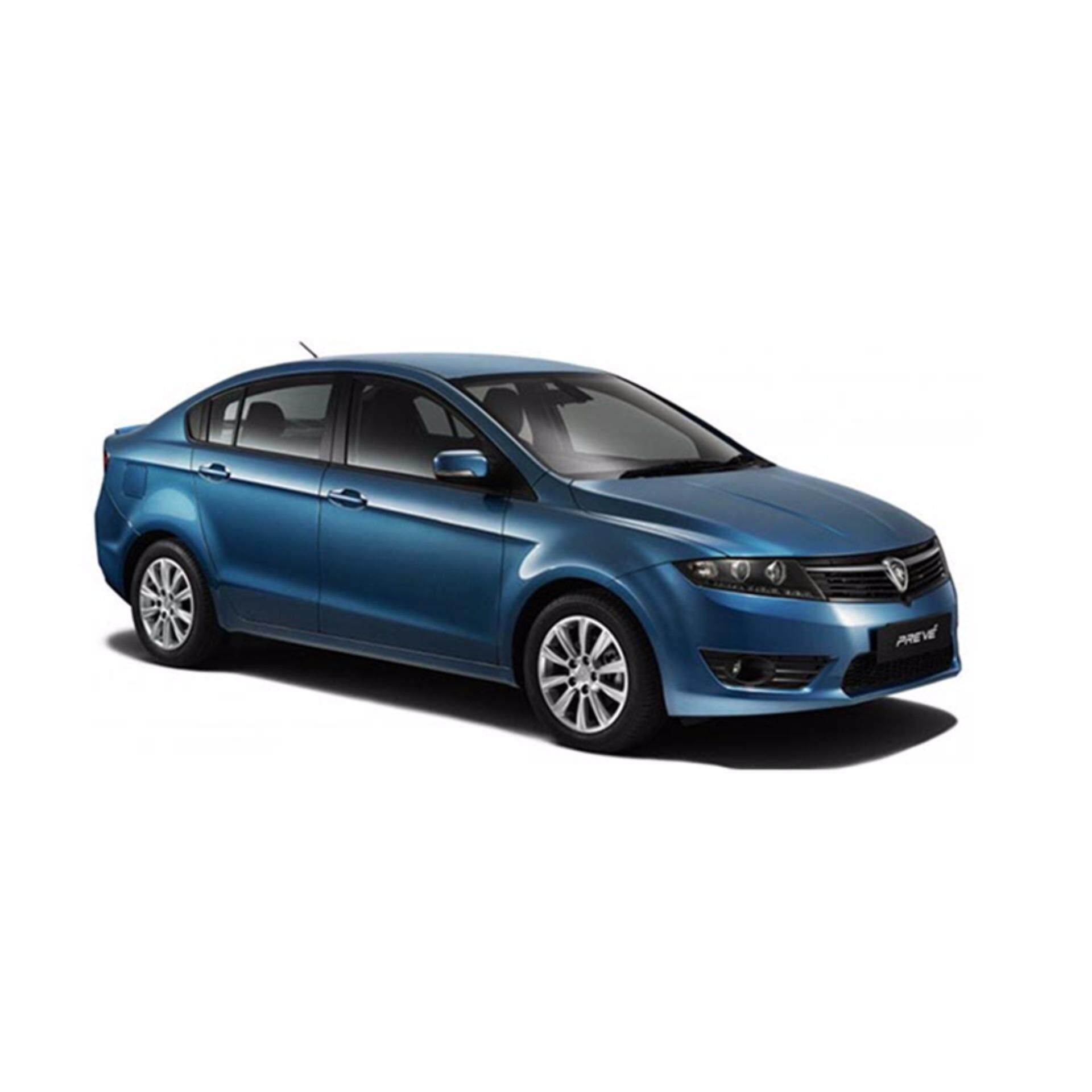 Transparent Car Cover With Available Size (Dust-Proof, Waterproof, Dispossable Plastic) For Car Body - Proton Preve