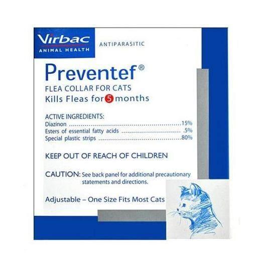 [Virbac] Preventef Antiparasitic Cat Collar