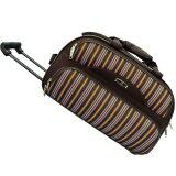 Waterpolo 21 inch Trolley Travelling Bag-WT1587 Coffee