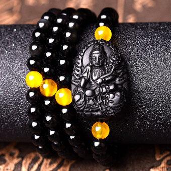 Zodiac snake natal Buddha men and women bracelet Buddha