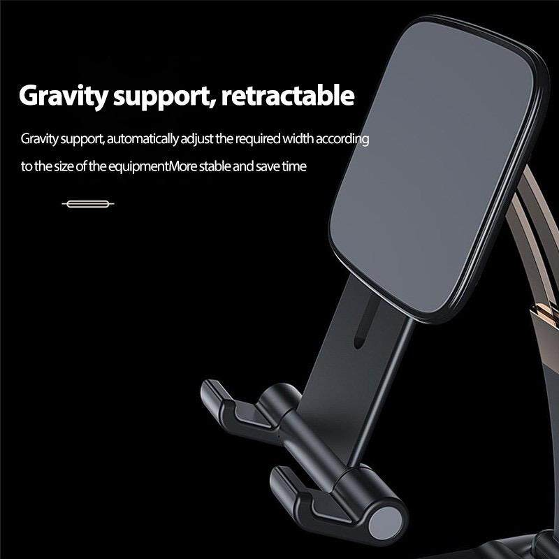 Foldable Mobile Phone Desk Stand , IPhone IPad Pro Stand , Gravity Flexible Tablet , Desktop Mobile Phone Holder