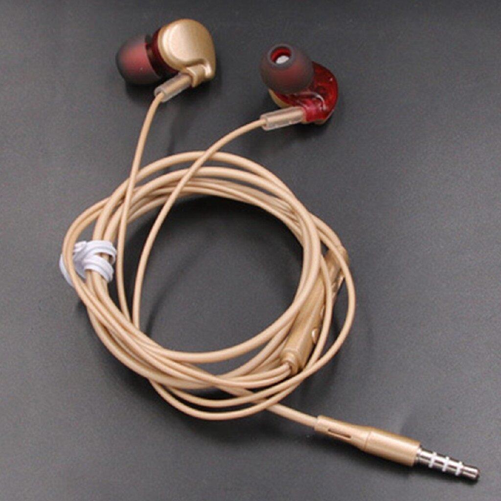 On-Ear Headphones - 3.5 Universal HiFi Sports Headphones Sound Quality Enhanced For Xiaomi Huawei - GREY / ROSE GOLD / GOLD