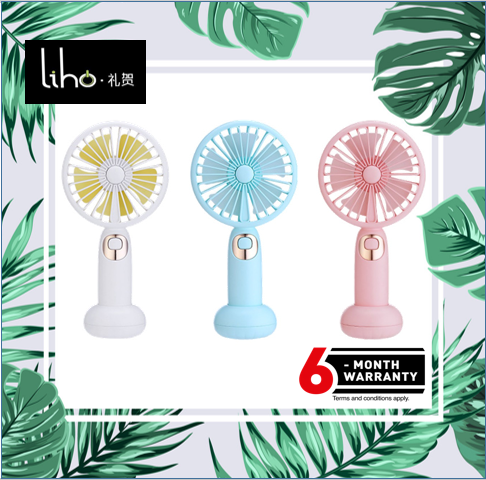 NEW Mini Portable USB Rechargeable Sweet Blossoming Bluetooth Music Fan