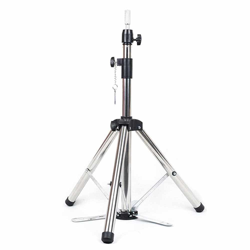 Best Selling Wig Stand Tripod Adjustable Height Mannequin Heads Stand Hairdressing Training Heads Holder Bracket (Standard)