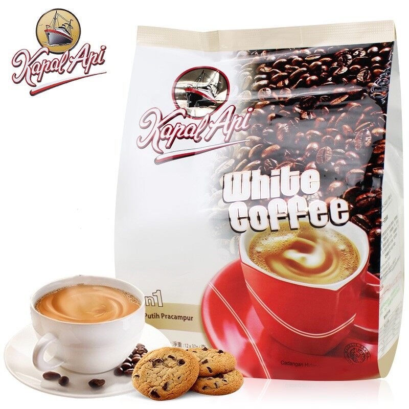 [FSC] Kapal Api White Coffee 3 in 1 37gm x 15pck