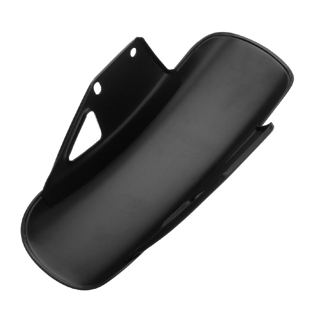 Moto Accessories - Motorcycle Front Metal Fender Mudguard Fairing Mug Guard For Suzuki GN125 GN250 - SILVER / BLACK
