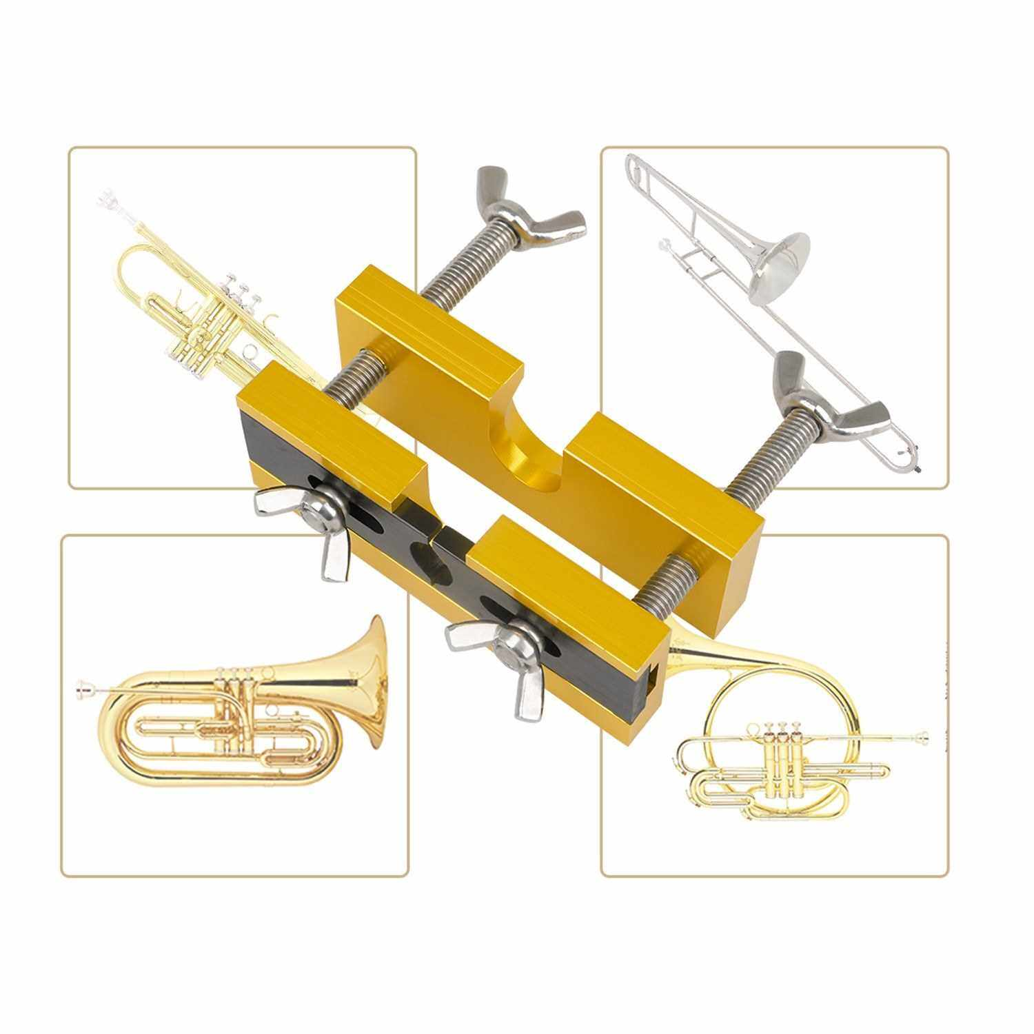 People's Choice Metal Trumpet Repairing Tool Trumpet Nozzle Separator Trumpet Mouth Extractor Tools (Standard)
