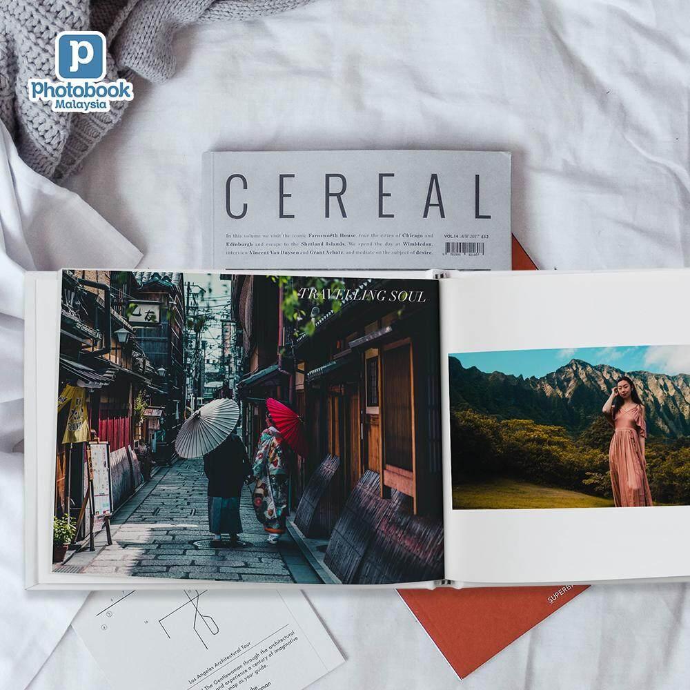 [e-Voucher] Photobook Malaysia 11 DIY Landscape Hardcover Travel Album