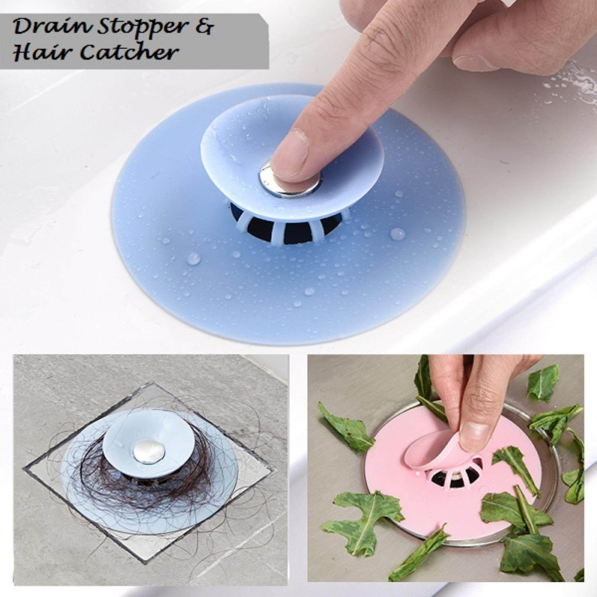 (Ready Stock in Selangor) Drain Stopper & Hair Catcher