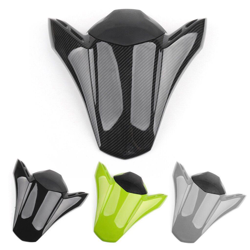 Moto Helmets - Rear Seat Fairing Cover Cowl For Kawasaki Z900 Z 900 ABS 2017 - GREEN / BLACK / GREY / CARBON SLIVER