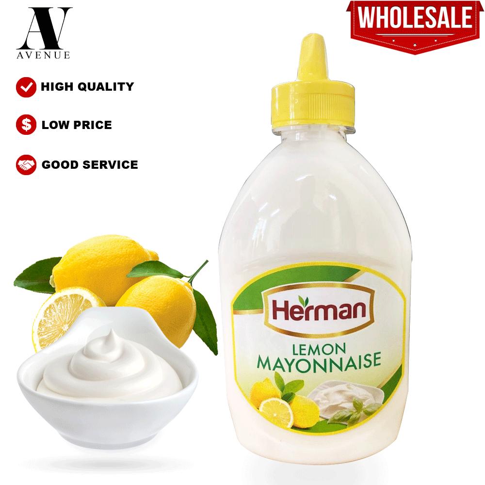 Herman Lemon Mayonnaise 500 Ml مايونيز بالليمون