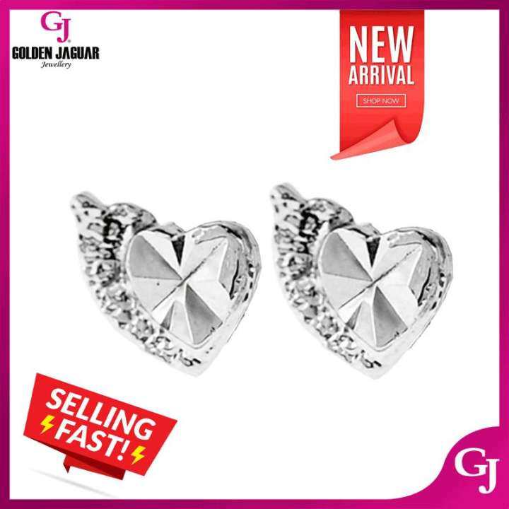 NEW GJ Jewellery Emas Korea 24k Subang - Love Anting-Anting / Love Tebal Earring (69701-5)