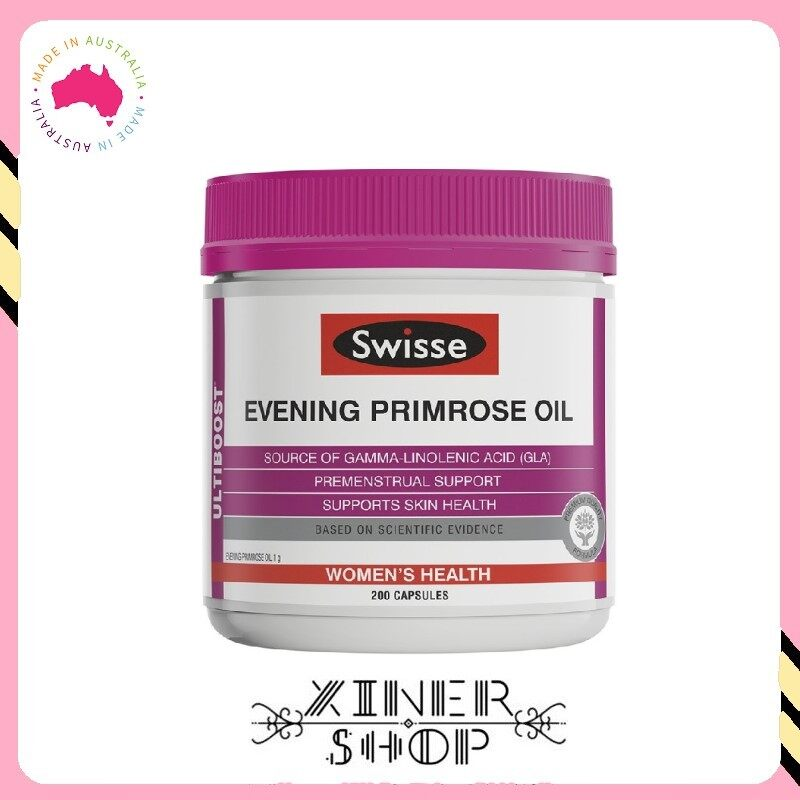 [Pre Order] Swisse Ultiboost Evening Primrose Oil ( 200 Capsules ) (Made in Australia)