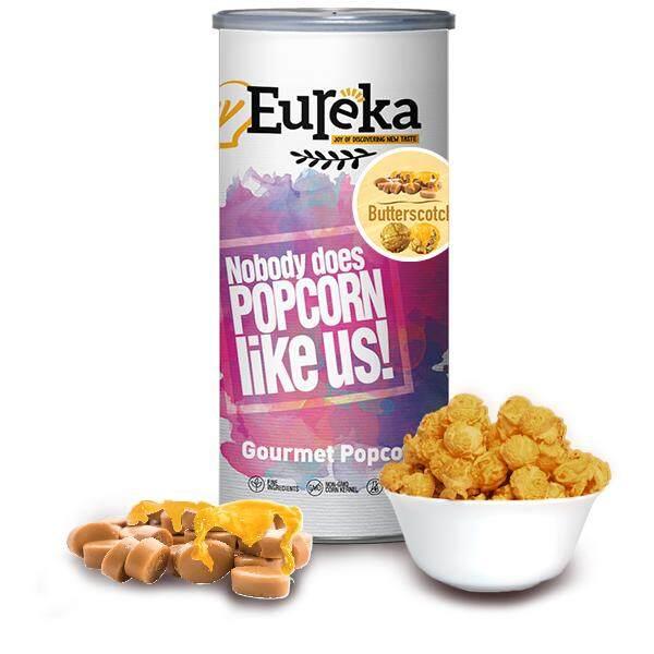 Eureka Butterscotch Popcorn Snack (Paper Can)