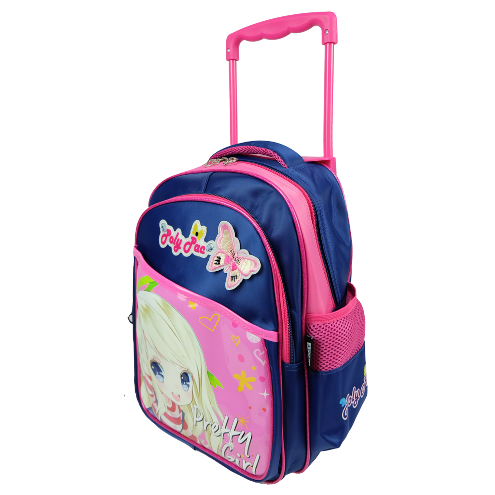 Poly-Pac PK1917R 14 Inch Kindy Trolley School Bag