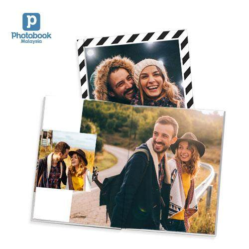 "[e-Voucher] Photobook Malaysia 8"" x 11"" Medium Portrait Imagewrap Premium Lay Flat Photobook- 22+2 Pages"