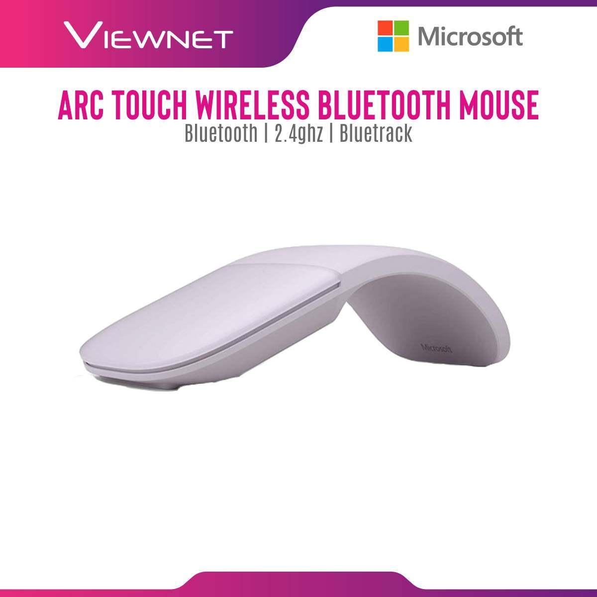 Microsoft Bluetooth Arc Touch Mouse (ELG-00005) BLK , (ELG-00022) LILAC , (ELG-00031) SOFT PINK , (ELG-00044) SAGE