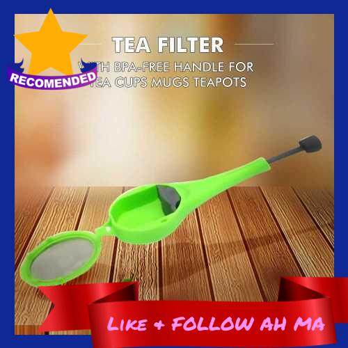 Best Selling Extra Fine Mesh Tea Infuser Squeeze Tea Strainer Tea Filter with BPA-Free PP Handle for Tea Cups Mugs Teapots (Standard)