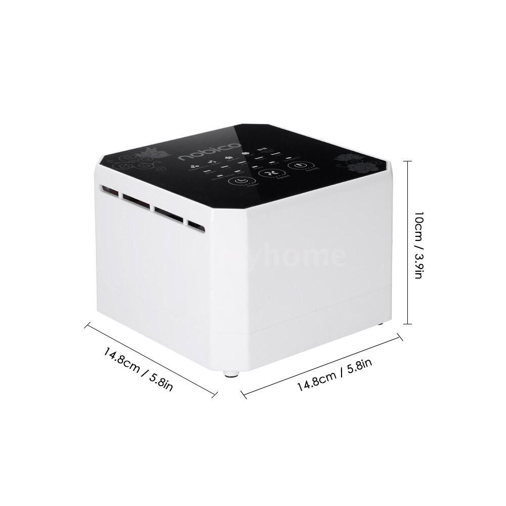 Humidifiers & Air Purifiers - PORTABLE Air Purifier Cleaner Sterilizer Desktop Negative Ion Generator Formaldehyde Mold Odor Dust - Cooling Heating