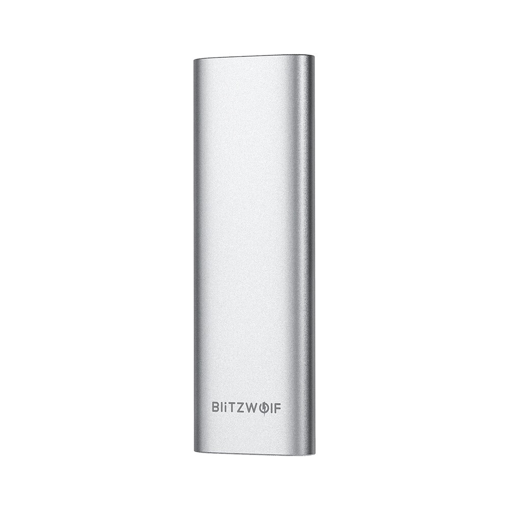 External Hard Drives - BlitzWolf BW-PSSD1 SSD 256GB USB 3.1 Gen 1 High Speed Hard Drive with Type-C Port PORTABLE Solid - Storage
