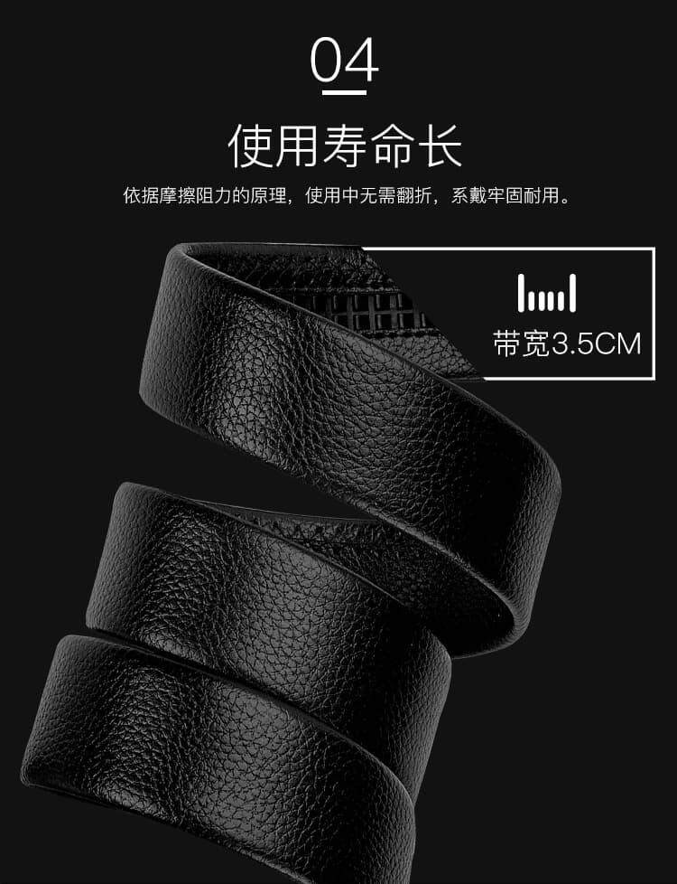 (NEW) [M'sia Warehouse Direct] 2020 Korean Series Men's Leather Automatic Buckle Belt Line Design Series Perfect Gift For Love One Luxury Classy Style Suitable For Formal Wear Jeans Casual Wear Belt Long Lasting Tali Pinggan Kulit Halal